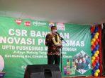 Plt. Wali Kota Cimahi Menghadiri Serah Terima Hasil Rehabilitasi Bangunan Puskesmas Melong Tengah Dari CSR Indomaret Dan SC Johnson