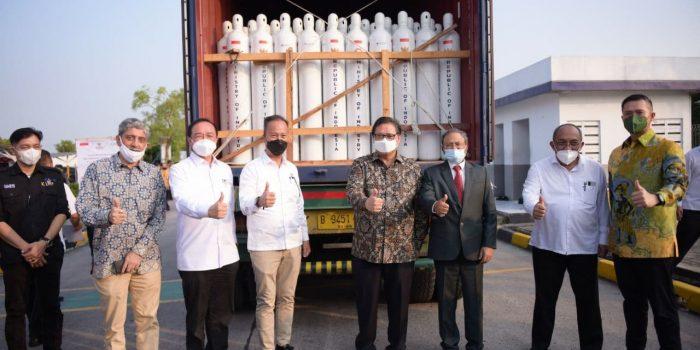 Duta besar India: Apresiasi yang Besar Atas Bantuan Tabung Oksigen dari Indonesia