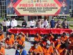 Ungkap 20 Kasus 3C, 24 Tersangka Dibekuk Satuan Polres Gresik