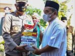 Polres Jombang Salurkan Zakat Fitrah Kepada Ponpes, Panti Asuhan dan Kaum Dhuafa di Kabupaten Jombang