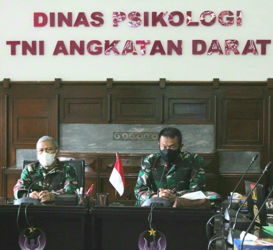 Kadislitbangad Gelar Asistensi Teknis (Asnik) Litbanghan TNI AD di Dispsiad