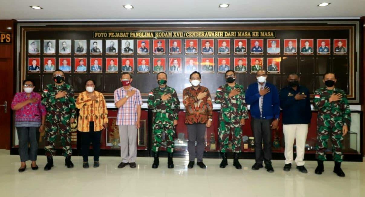 Kodam XVII/Cenderawasih Siap Bantu KPU RI Sukseskan Pilkada di Provinsi Papua