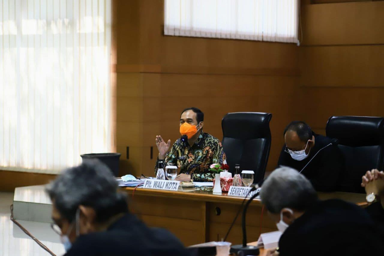 Pemkot Cimahi Evaluasi Pelaksanaan PPKM Darurat