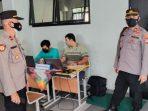 """Polsek Tanjung Duren Gebrak """"Gerai Vaksin Presisi"""" Di SMP Negeri 286 Tomang Jakarta Barat"""