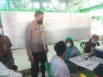 Kapolres Metro Jakbar Kunjungi Kegiatan Vaksinasi Ponpes Al Washilah Kembangan Utara