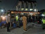 Polsek Cileduk, Polres Metro Tangerang Kota melaksanakan operasi pelaksanaan PPKM level 4