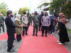 Serbuan Vaksinasi UNISA Yogyakarta Ditinjau Panglima TNI dan Kapolri