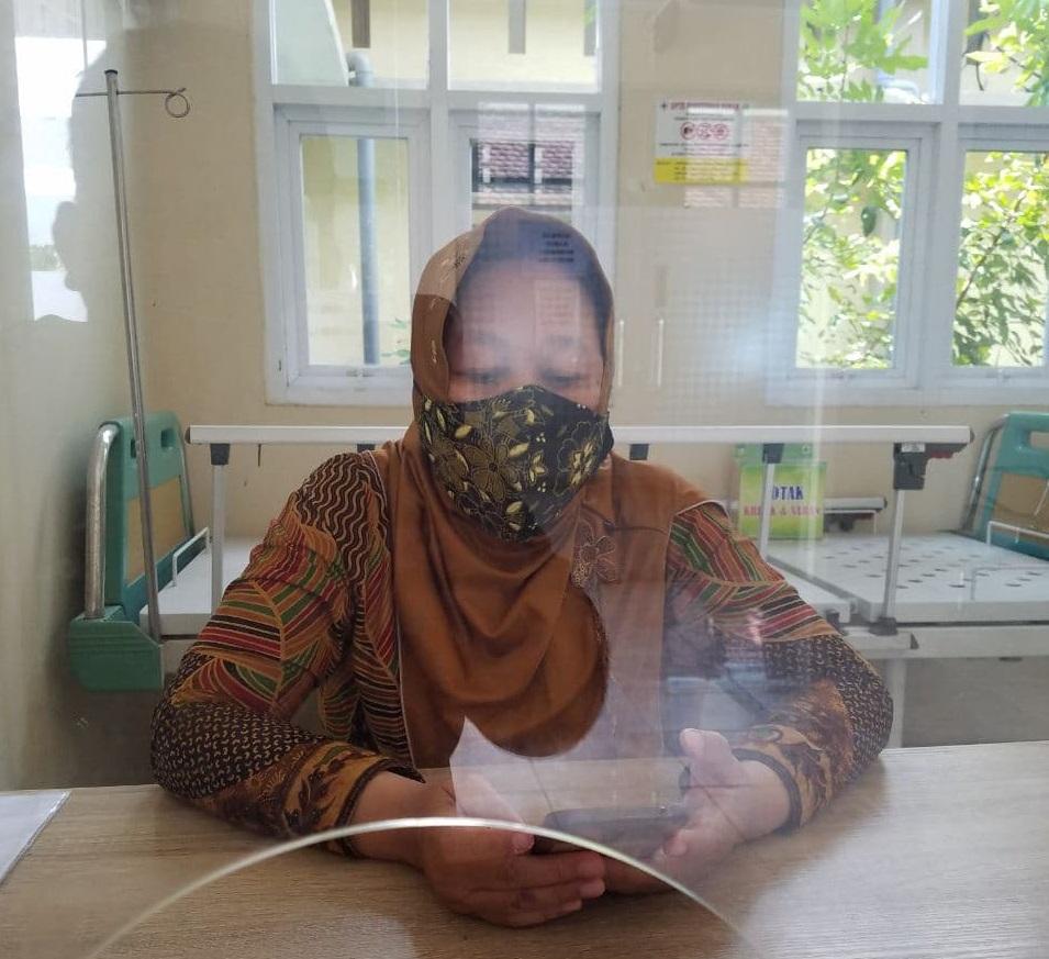 Alami Kelumpuhan Warga Bogem Kabupaten Kediri Terima Dobel Vaksin Sinovac
