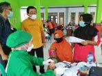 Desa Sambikerep Bersama Polres Nganjuk Percepat Cakupan Vaksinasi Nasional